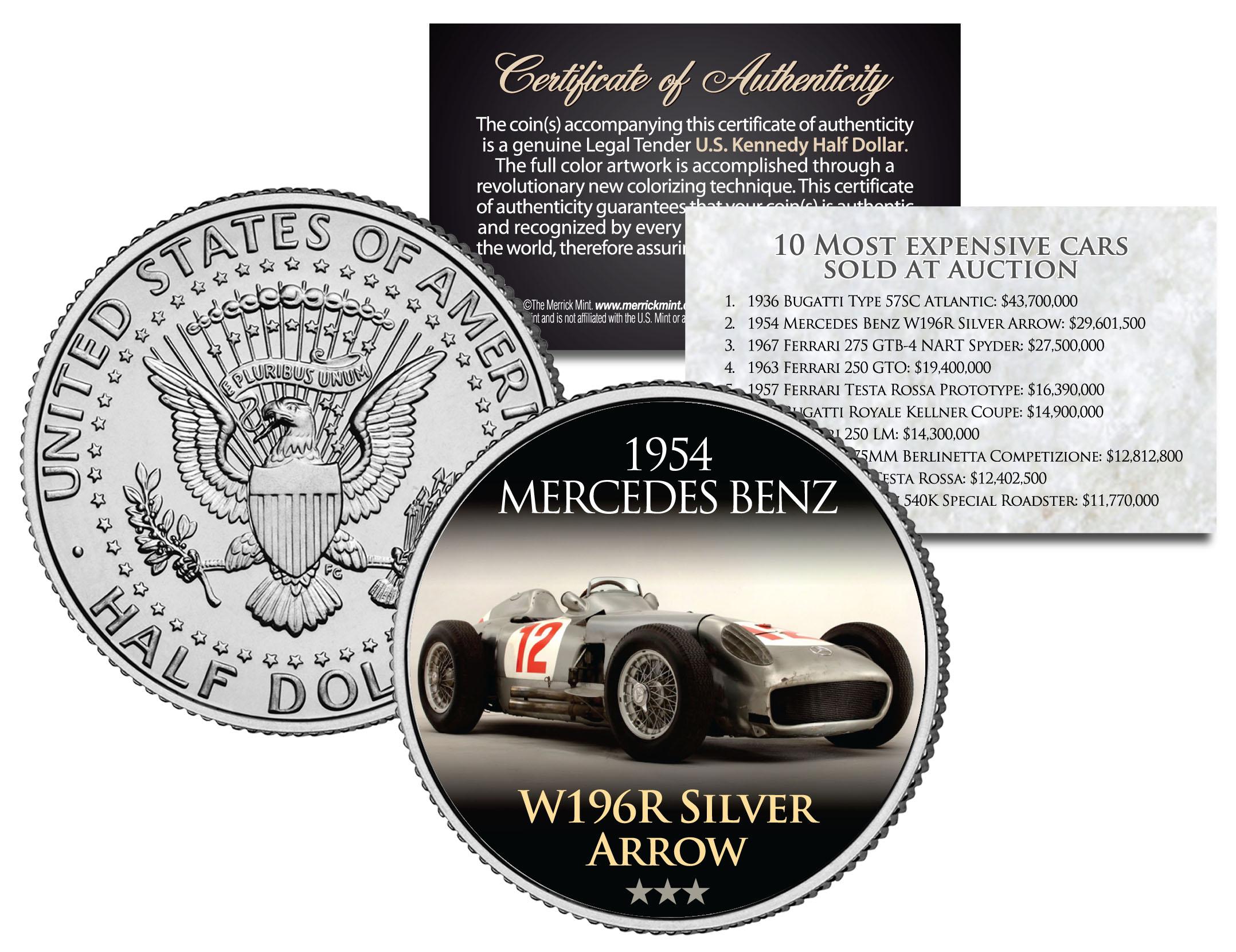 W196R Silver Arrow
